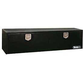 Buyers Products Black Steel Underbody Toolboxes With Ro...